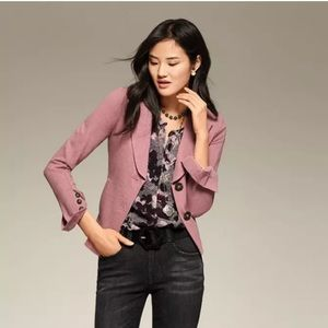 CAbi 3550 Applaud Jacket Pink Quartz In Size 6